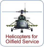 Helicopters for Oilfields