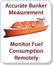Remote ship Bunker GFuel Monitoring
