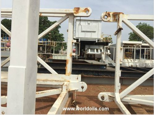 1100Hp Trailer Mounted Drilling Rig for Sale