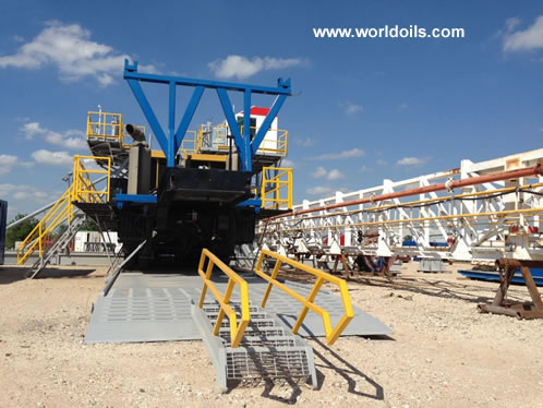 Chinese RG 1300 Triple Drilling Rig for Sale