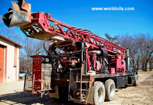 Used Drilling Rig Schramm T64HB for Sale