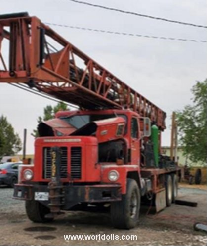 1976 Built Ingersoll-Rand Cyclone TH60 Drilling Rig for Sale