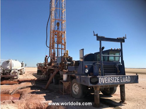 1978 Built Gardner Denver 2000 Drilling Rig for Sale