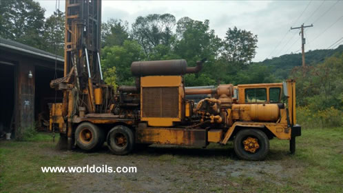1978 Built Ingersoll-Rand T4W Drill Rig For Sale