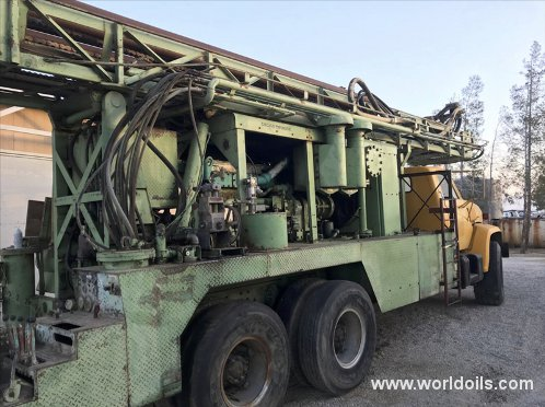1979 Built Chicago Pneumatic T670W Drilling Rig for Sale