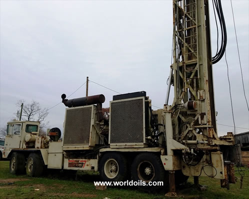 Used Drilling Rig Ingersoll Rand RD20 II