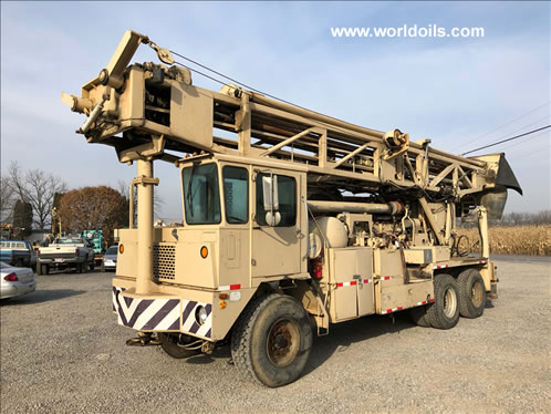 Ingersoll-Rand T4BH (Blast Hole) Used Drill Rig for Sale