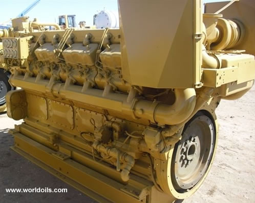 2002 Caterpillar D-399 Industrial Diesel Engine