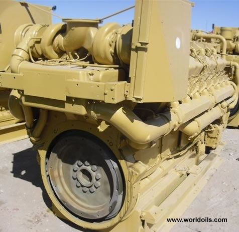Caterpillar D-399 Industrial Diesel Engine 2002 built
