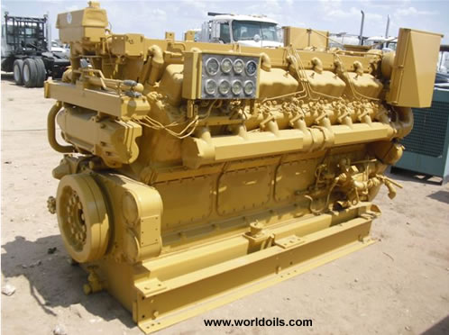 Caterpillar D-399 Industrial Diesel Engine for sale