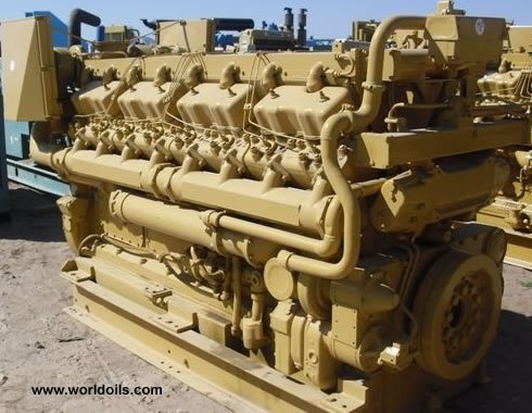Used Caterpillar D-399 Industrial Diesel Engine for sale