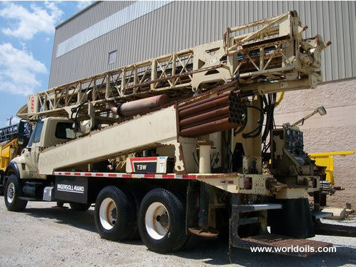 Ingersoll-Rand T3W Drilling Rig 2002 Built for Sale