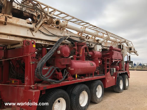 2003 Built Schramm T130 Drilling Rig For Sale