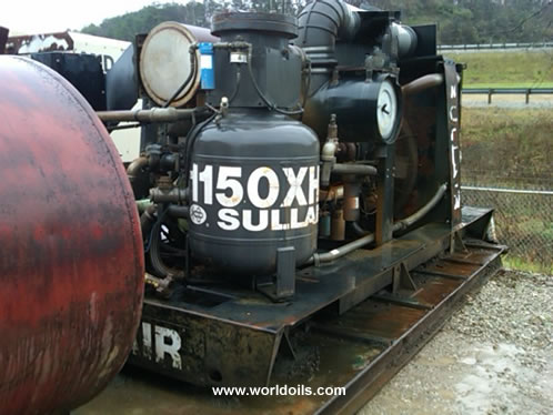Sullair 1150XHDOPFR Used Air Compressor