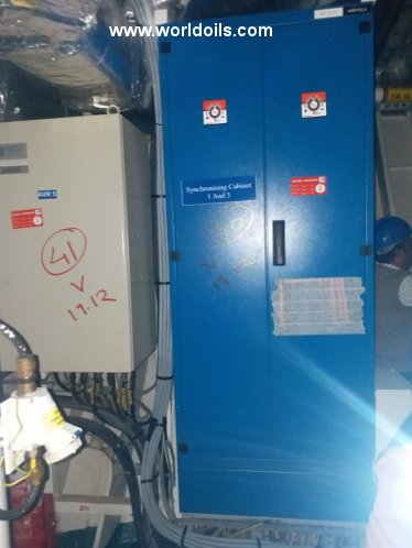 2008 Built Wartsila W12V32 generators for sale