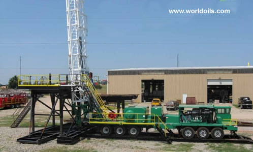 2011 East West Machinery  SK-675 Drilling Rig