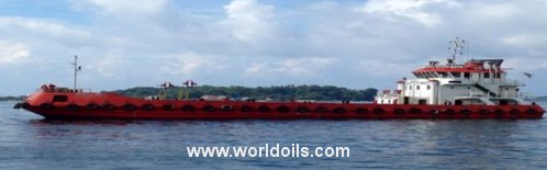 Self Propelled Oil Barge for Sale