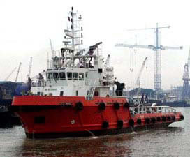 3500bhp Utility Supply Vessel - 2005 built - 45mts