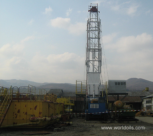 Carrier Mounted Telescopic Mast Drilling Rig