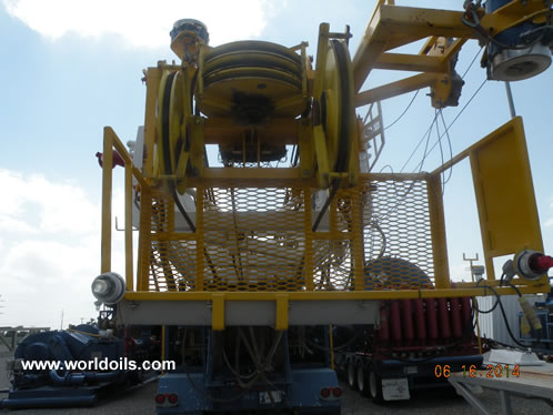 700 HP Carrier Mounted Drilling Rig