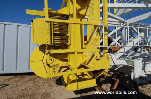CABOT 1200 Trailer Mounted Used Drilling Rig