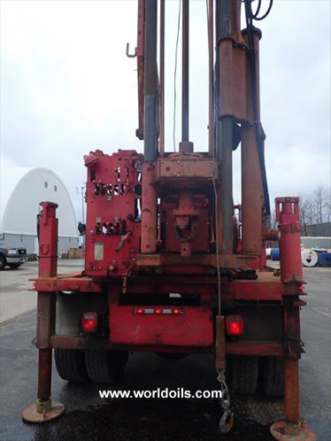 CME-92 Drill Rig in USA