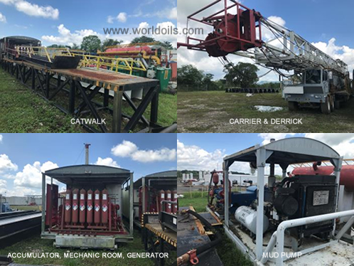 Carrier Mounted Drilling Rig for Sale