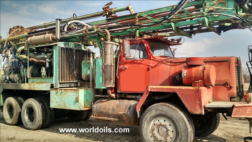 Chicago-Pneumatic Used Drill Rig for Sale