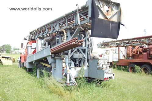 Chicago-Pneumatic T-700 Drill Rig in USA