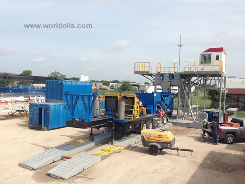 1300 hp Mechanical Drilling Rig for Sale