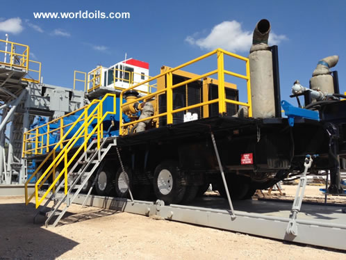 1300hp Trailer Mounted Mechanical Drilling Rig