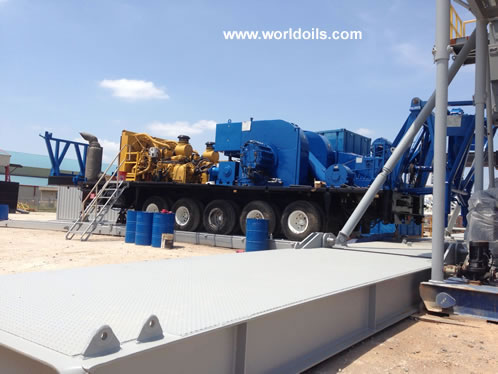 Trailer Mounted Drilling Rig - Chinese RG 1300 for Sale