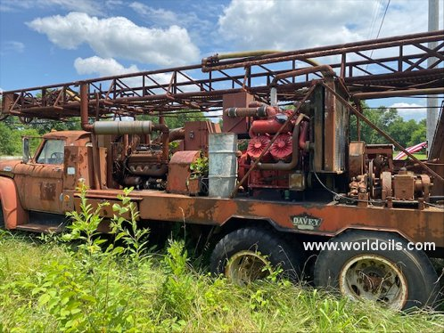 Davey Rotary Table Drilling Rig for Sale