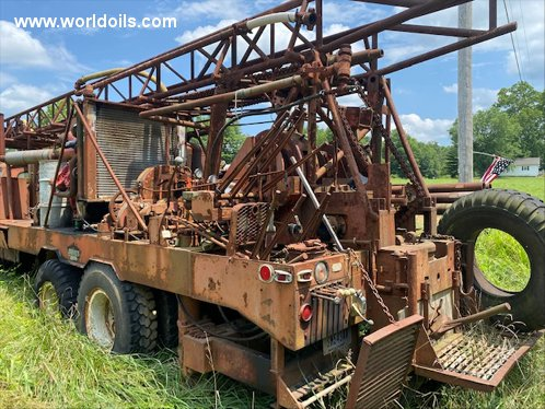 Davey Rotary Table Drive Used Drilling Rig for Sale