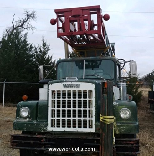 Drilling Rig - Bucyrus Erie 10R - For Sale