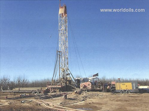 Drilling Rig - Generic Larson Reverse Rotary - Air Assited