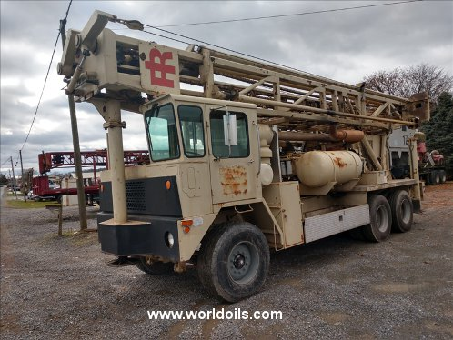 Drilling Rig - Ingersoll-Rand T4W for sale