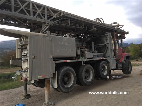Driltech D40K Used Drill Rig in USA