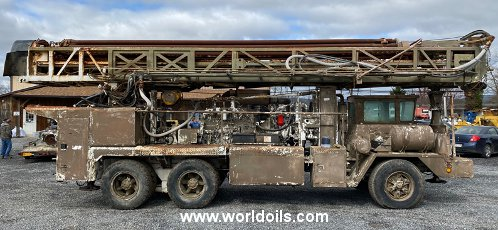 Driltech D40K Drill Rig - 1977 Built - For Sale