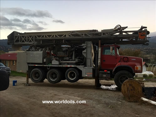 Driltech D40K Used Drill Rig for Sale