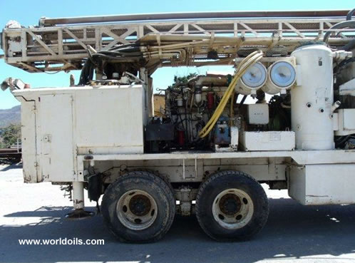 Driltech T25K5W - Drilling Rig - For Sale - 2000 Built