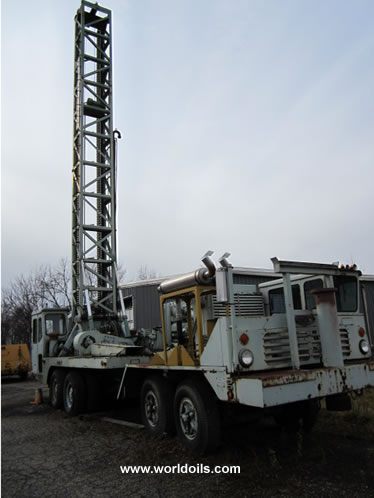 Used Drilling Rig Gardner Denver GD-40T