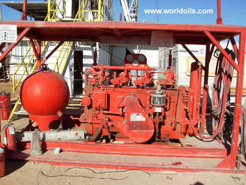 Drilling Rig in USA