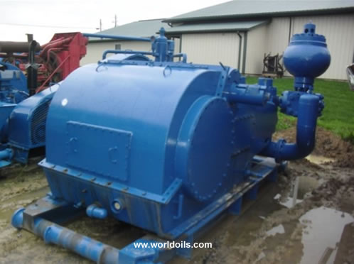 IDECO Used Triplex Mud Pump for Sale