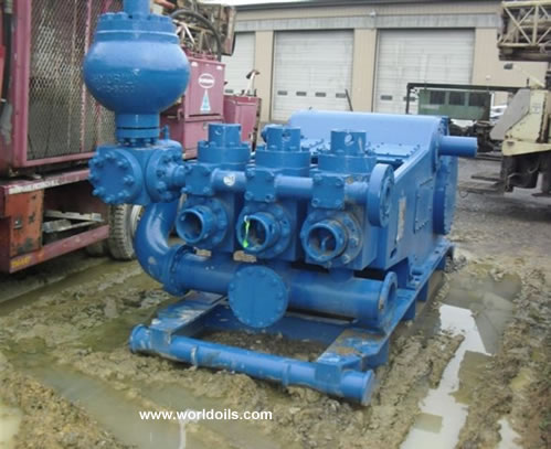 Used IDECO T-1000 Triplex Mud Pump