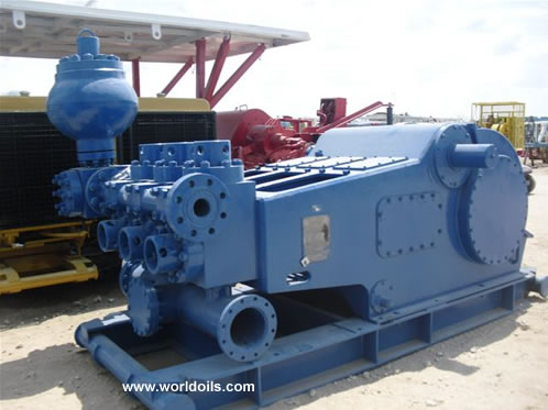 IDECO T-1000 Used Triplex Mud Pump for Sale