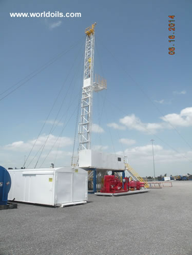 Ideco H44 Carrier Mounted Drilling Rig