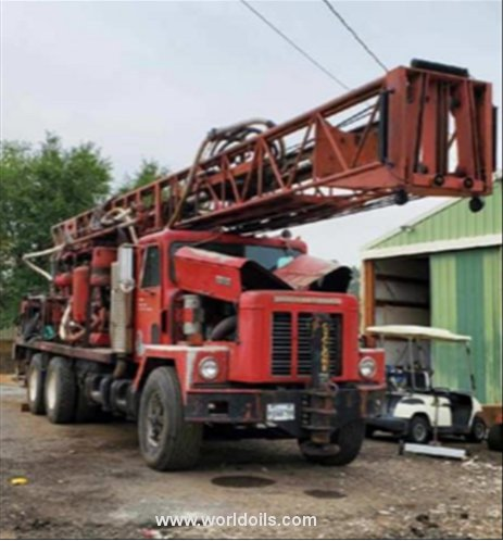 Ingersoll-Rand Cyclone TH60 Drilling Rig - 1976 Built for Sale