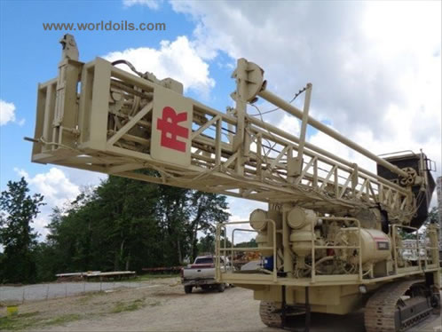 Ingersoll-Rand DM45HP Used Drill Rig