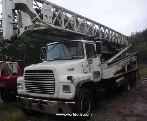 Used Drilling Rig for Sale Ingersoll-Rand T3W